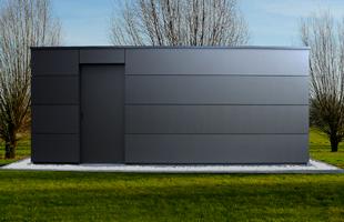 Exklusives Gartenhaus modernes individuelles Gerätehaus